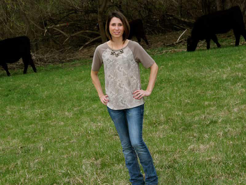 Jess on the Farm